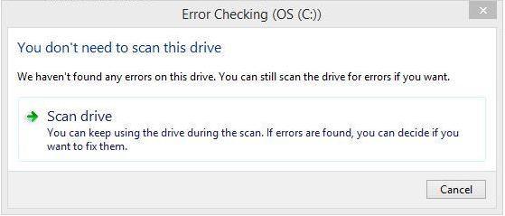 réparer une défaillance du disque dur étape 3