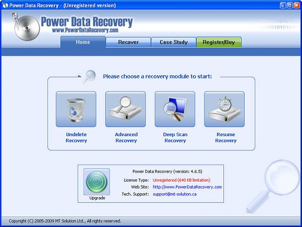 recover deleted email power data recovery