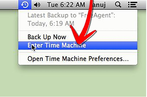 Recupera archivos sobrescritos desde la máquina del tiempo de Mac-2