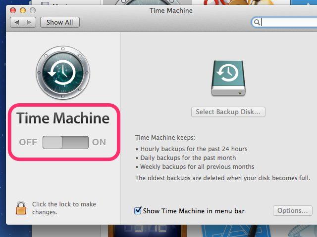Recuperar archivos sobrescritos desde la Máquina del Tiempo de Mac-1