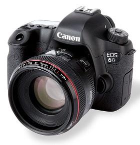 Como recuperar fotos excluídas da Câmera Canon EOS 6D