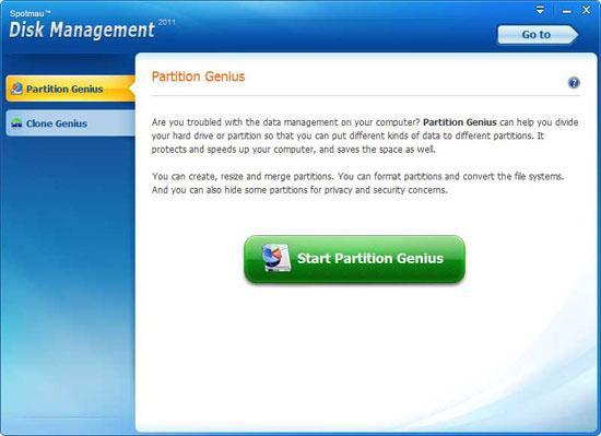 partition hard disk
