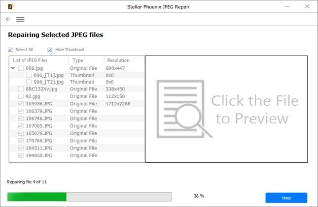 Repair Damaged / Corrupt Images Using Photo-Repair Tools-step 2