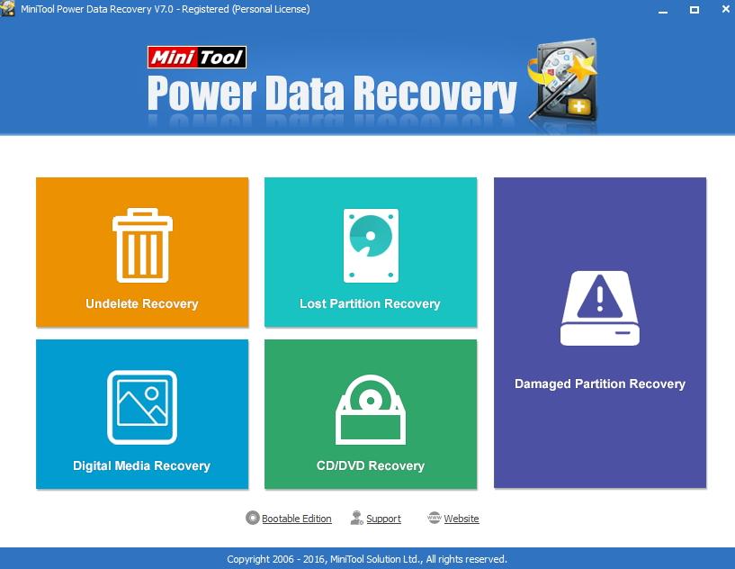 Minitool free sd card recovery