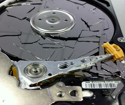 logical hard drive crash