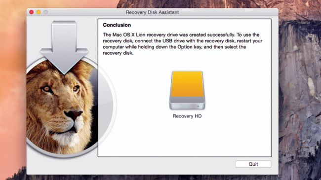 create a recovery usb high sierra