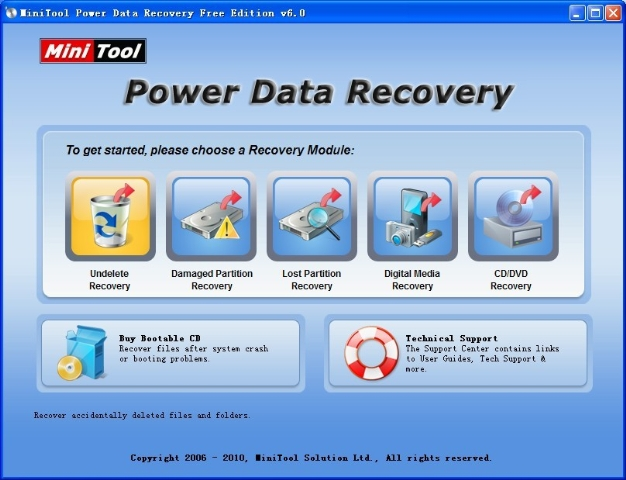 mini too partition recovery for undeleted files