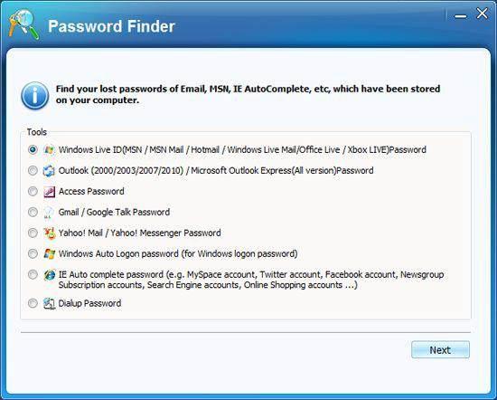 msn password hacker