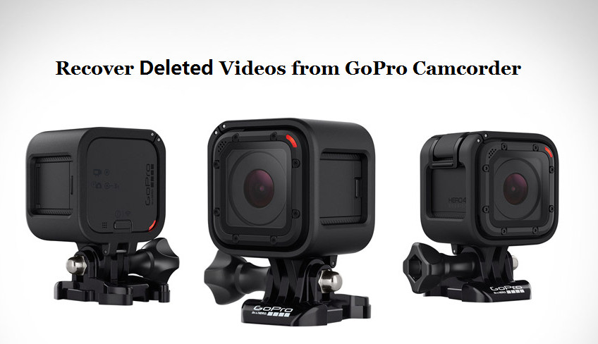 recover deleted videos from gopro camcorder