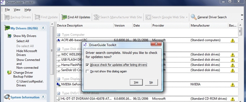 driverguide toolkit-top 5 Windows driver backup software