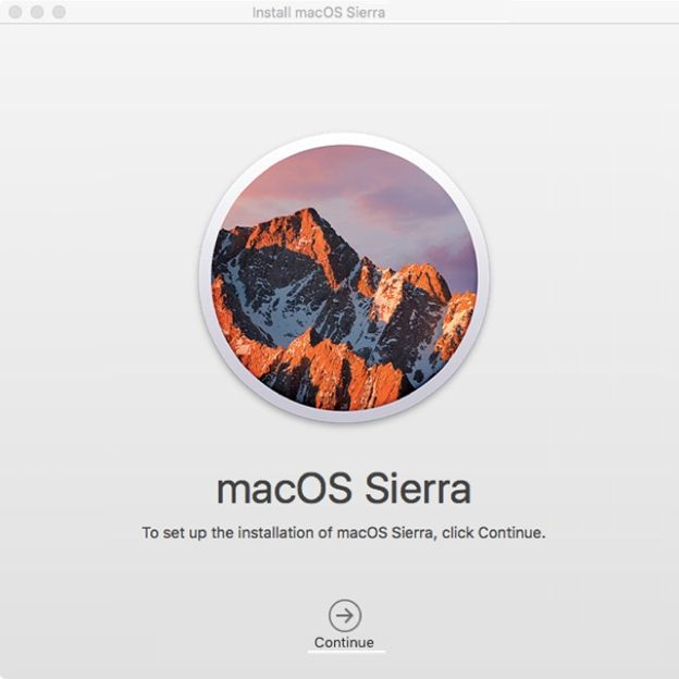 how to update to mac os sierra from 10.7.5 - 2