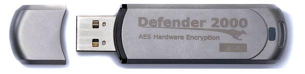 kanguru defender 2000 secure flash drive