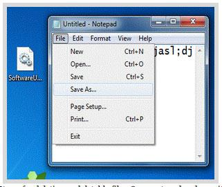 Delete Undeletable Files by Save as