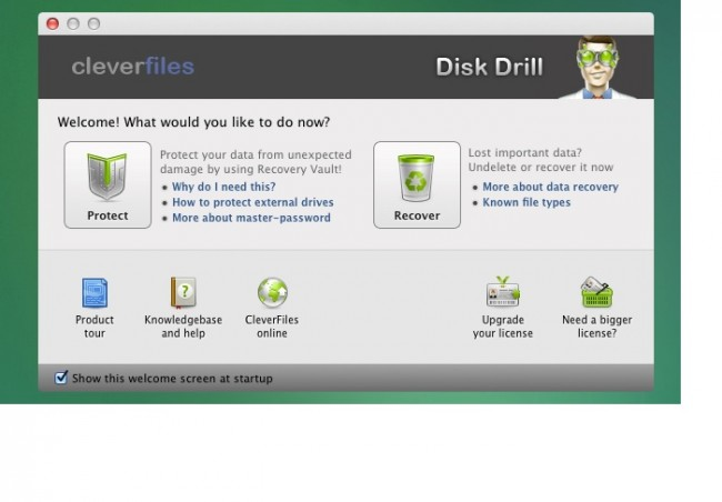 Top 5 data recovery software for Mac OS X-disk drill for mac