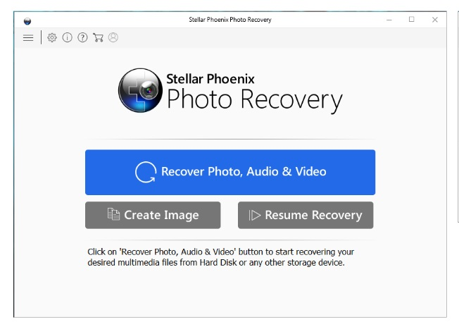 recuperador de fotos borradas