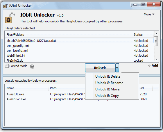 alternatives of delete-doctor-IObit unlocker
