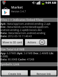 partition an android SD card step 9