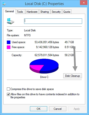The best way to Stop your Computer from Slowing Down-defragment disk in Windows step 2