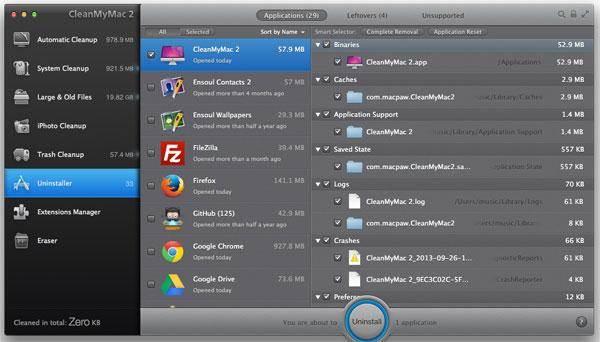 CleanMyMac - A ferramenta mais famosa para limpar o seu Mac