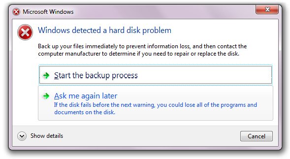 hard drive logical failure