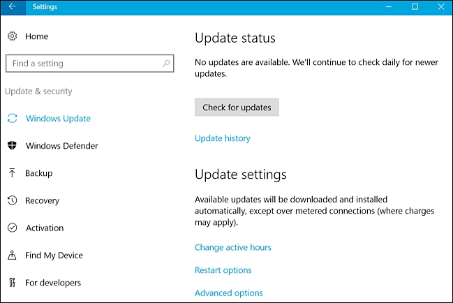 fix windows 10 updates problems
