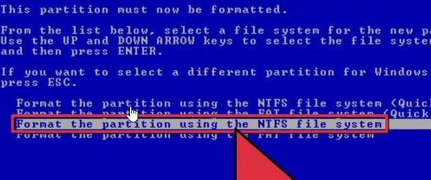 wipe hard drive data on windows step 3