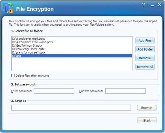 PPT encryption