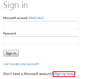 sign in onedrive