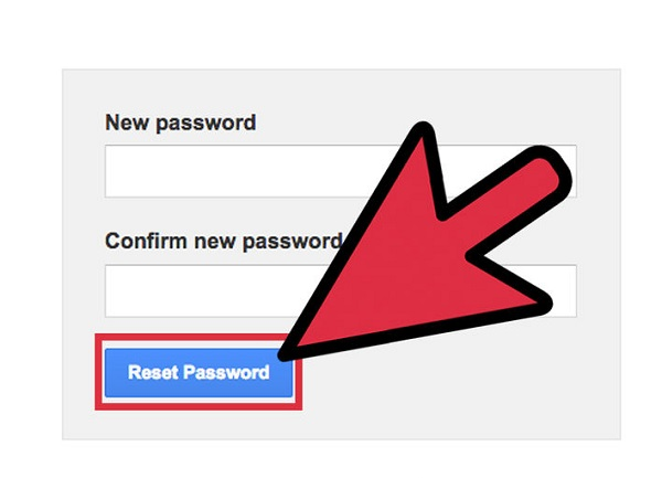 Reset Email Password