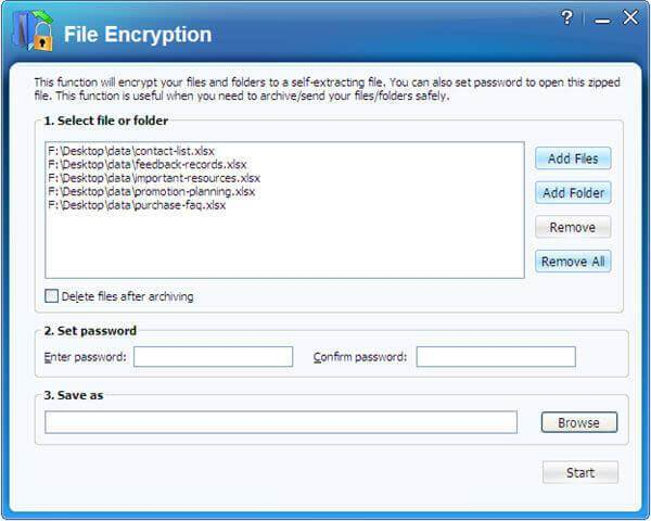 How to Password Protect Excel 2010/2007/2003 Files