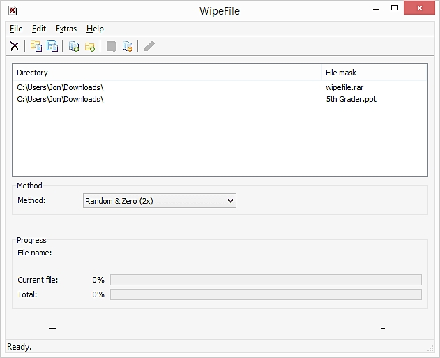 wipefile software