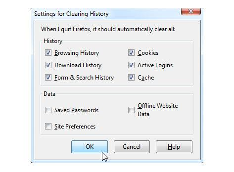 how to delete your browsing history automatically