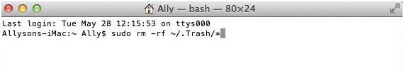 How to force empty the trash on your mac