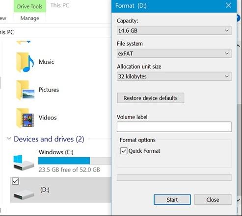 format mac hard drive