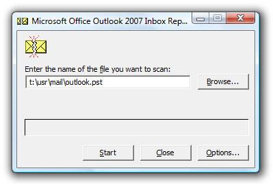 repair outlook pst files