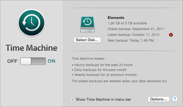 How to fix Slow Mac Performance with 10 easy ways-Backup Data
