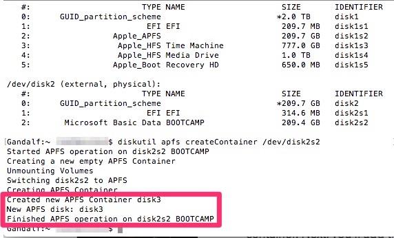 format APFS drive