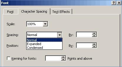 dchange line spacing in microsoft word