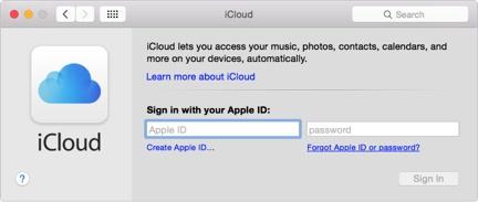 backup mac to icloud