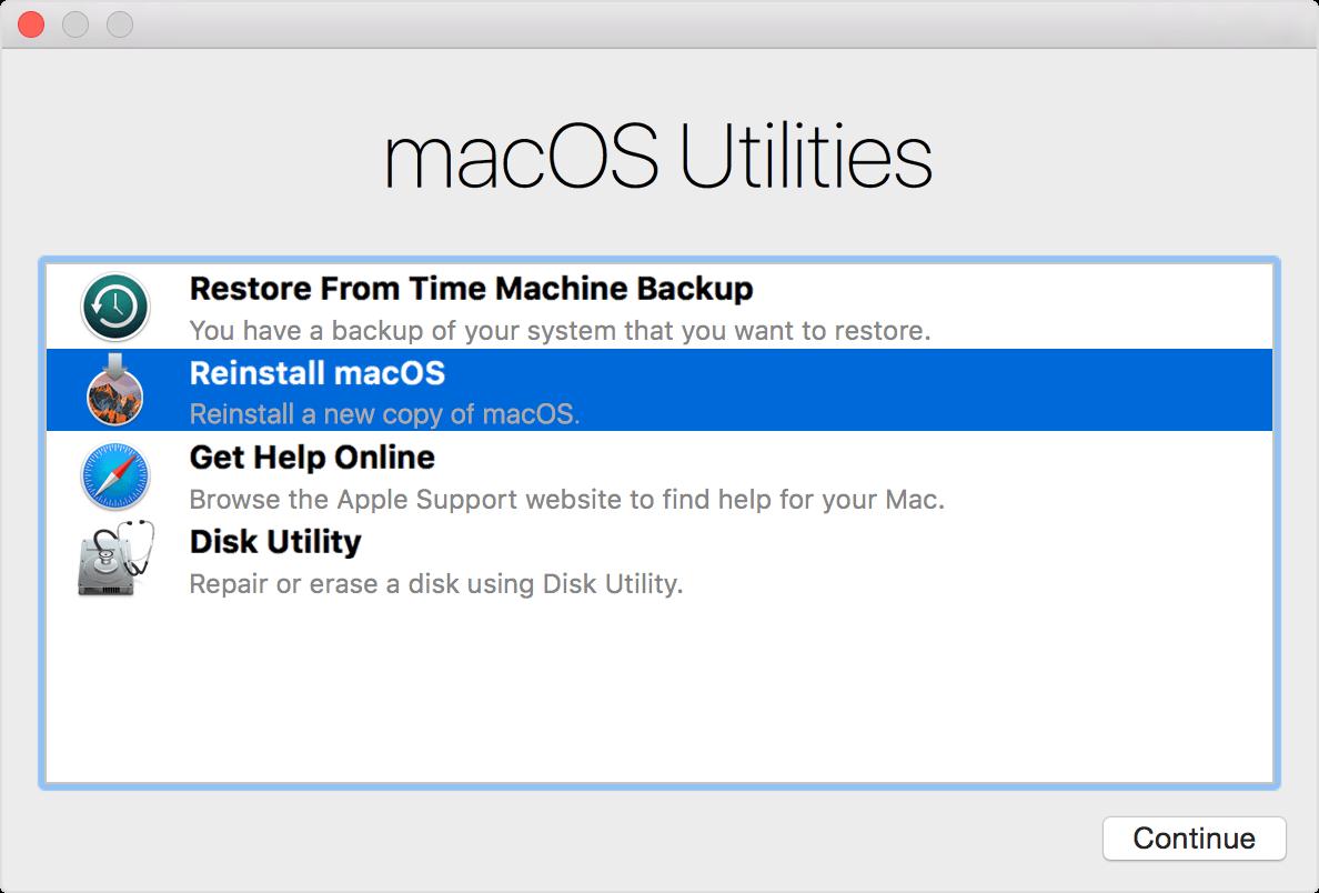 Solved Mac won't startup-Reinstall Mac OS