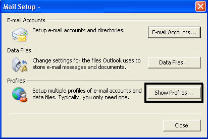 create new outlook pst file step 2