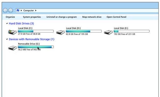 USB Hard Drive Model 10
