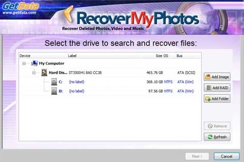 GetData Recover My Photos