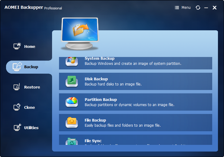 computer backup to USB flash drive