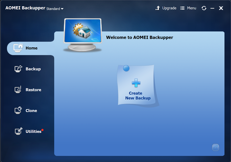 AOMEI Backupper Professional for Windows backup