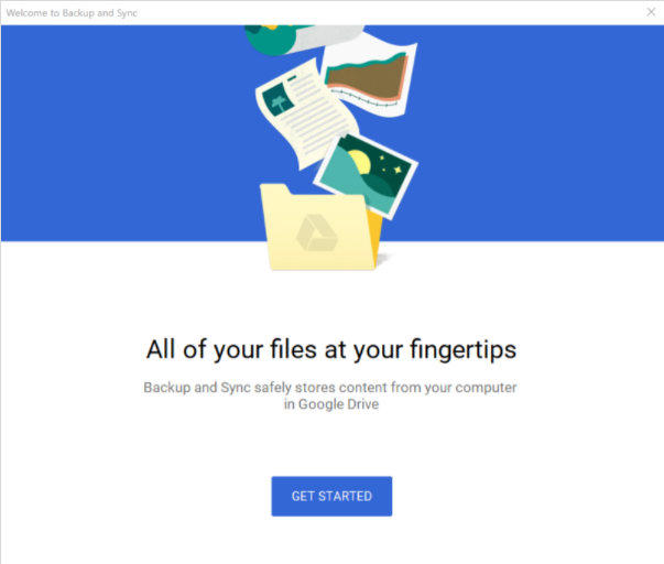Backup Photos to Google Drive
