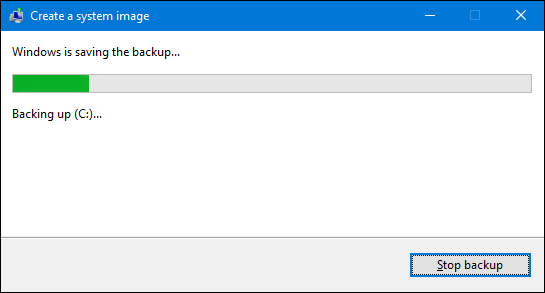 system image backup in windows 7