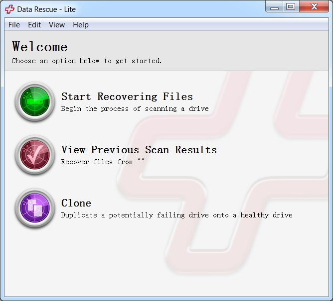external hard drive recovery-prosoft