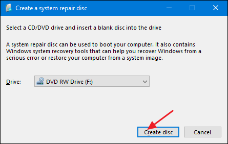 Create Disc