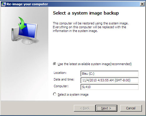 image your computer